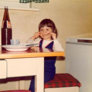 In meiner Kinheit an der Tagesordnung: Kotelett abnagen und Fanta trinken.