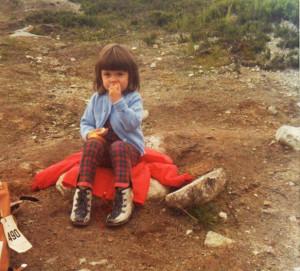Schon als Kind ein kleiner Vielfrass.
