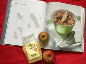 Hirse-Apfel-Zimt-Créme – Als Frühstück oder Mittagessen geeignet.